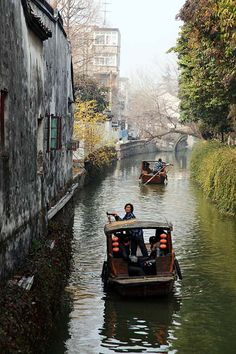 The ancient waterways of Suzhou, China, are a UNESCO World Heritage Site Places Around The World, Oh The Places You'll Go, Places To Travel, Places To Visit, Around The Worlds, Travel Destinations, Travel Tips, Beijing, Shanghai