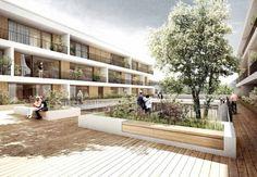 1. Preis: TRU ARCHITEKTEN, HOLZWARTH Landschaftsarchitektur, yellow z urbanism architecture