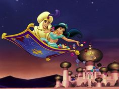 Photos of Aladdin. Images of Aladdin. Pics and coloring pictures of Aladdin. Disney Pixar, Disney Aladdin, Disney Amor, Aladdin 1992, Film Disney, Disney Songs, Best Disney Movies, Disney Couples, Disney Love