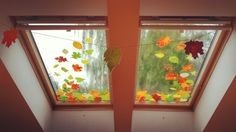 🍁💧☔őszi ablakdekorunk a minicsoportba🍂☁🍃 #september #fall #decoration #leaf #colors #decor #autumn #csivitelő #óvoda #ovi #minicsoport #windows #preschool #herbst #blatt #farbe #fenster #kindergarten #zimmer