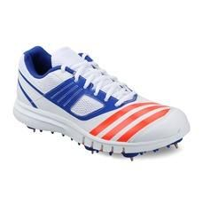 Order Adidas Howzatt Spike Cricket Shoes (White/Solred) With COD at SportsJam. Adidas Sport, Adidas Men, Adidas Official, Spike Shoes, Buy Shoes, Sports Shoes, Shoe Brands, Shoes Online, Cricket
