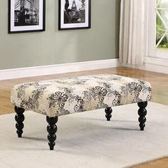 Butterfly Upholstered Bench - jcpenney..love thelegs!!