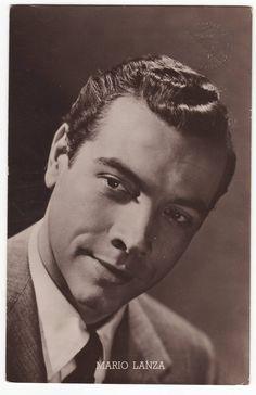Mario Lanza. opera singer