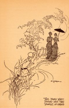 A Fairy to Stay - illustrated by A.H. Watson