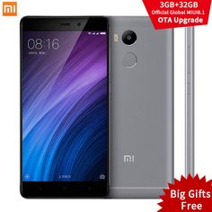 "Mobile Phones Original Xiaomi Redmi 4 Pro Prime 3GB RAM 32GB ROM Snapdragon 625 4100mAh FHD 5.0"" 13.0MP OTA MIUI 8.1 Xiomi Redmi4 Mobile Phone -- This is an AliExpress affiliate pin.  Find similar products on AliExpress website by clicking the VISIT button"