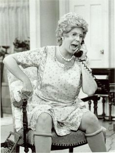 Mama's Family... One of my favorite shows of all time.  When I'm old I want to be just like her.