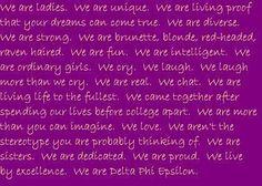 we are delta phi epsilon <3