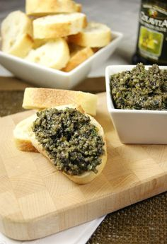 Mixed Olive Tapenade  www.thekitchenismyplayground.com  #olives #tapenade