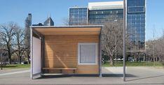 #BOLZANO #bus #shelter #Bellitalia very elegant street furniture solution. #concrete and #marble #urban #design street furniture - arredo urbano - mobiliario urbano - mobilier urbain