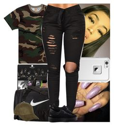 """Untitled #730"" by msixo ❤ liked on Polyvore featuring NIKE, Carhartt, LifeProof, Puma and River Island"