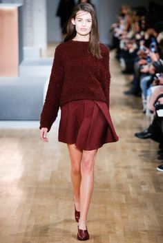 Tibi Fall 2015 Ready-to-Wear Fashion Show - Sarah Dick Runway Fashion, High Fashion, Fashion Show, Fashion Outfits, Fashion Design, Trend Council, Glamour, Fall 2015, Catwalks
