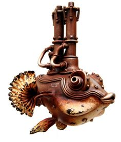 Steampunk Fish by Na
