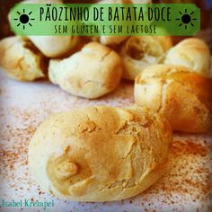 Ingredientes:   2 xícaras (chá) de batata doce cozida e espremida (tipo purê)   1 ½ xícara (chá) de polvilho doce   1 ½ xícara (chá) ...