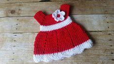 Crochet Baby Dress Pattern, Almost Free Crochet Pattern, Newborn Baby Dress, Baby Dress Pattern Only Crochet Baby Dress Free Pattern, Newborn Crochet Patterns, Baby Dress Patterns, Crochet Baby Clothes, Crochet Gratis, Free Crochet, Ravelry Crochet, Vestidos Bebe Crochet, I Love This Yarn