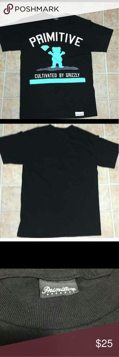 """Primitive diamond supply shirt The chest measures at 17"""" From the neck to the hem measures at 25"""" This shirt was worn once to a indoor party   I personally examined this cd and found no flaws I am a honest seller, my motivation is to not only make sales but FIRST and foremost make sure my customers are satisfied.   If you have any questions feel free to ask! thank you for your time and interest. General Information: Please read carefully   Please make sure you go through all the pictures…"""