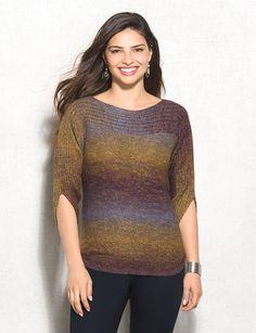 Ombré Dress Barn sweater