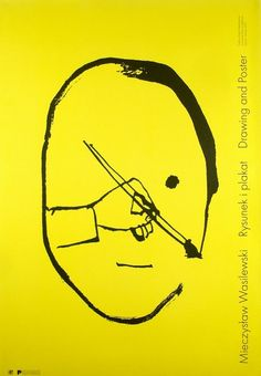 Drawing and Poster Rysunek i plakat Wasilewski Mieczyslaw Polish Poster