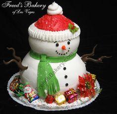 christmas birthday cakes ideas - Google Search