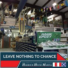 Leave nothing to chance.  Stock up at our Chandlery. #caymanislands #harbourhousemarina #chandlery #weloveboats