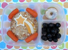 BentoLunch.net - What's for lunch at our house: Shooting Star Bento .... this site is SO COOL! When Karma starts school I will be trying some of these!