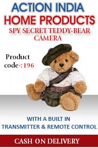 Buy Online Shop Hidden Spy Camera in Delhi India all types of Audio Devices, Wireless Spy Cameras India Delhi are available at Cheap Price.