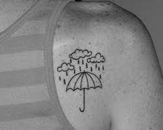 simple cloud tattoo - 40 Awesome Cloud Tattoo Designs  <3 <3