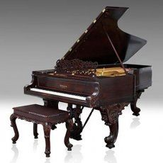 Knabe Rosewood Victorian Concert Grand Piano