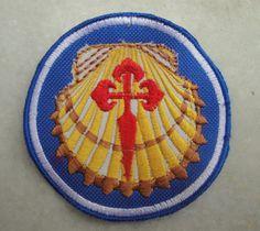 2x Camino Patches Santiago de Compostela Patch by baubletjes