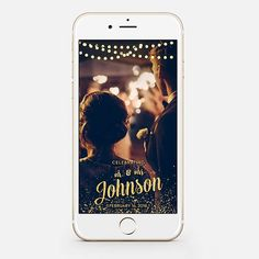 LIMITED TIME! Custom Snapchat Sparkle Gold Wedding Geofilter Photo filter Mr. and Mrs. Wedding filter GeoFilterWedding Geofilter gw89 by JessicaMichaelPrints