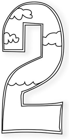 Creation Days Numbers Black White Art Coloring Book 555px.png