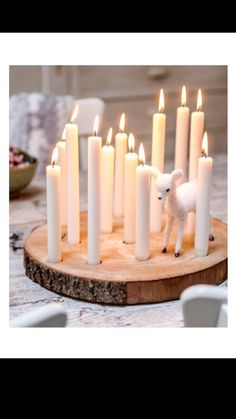 disk of Christmas tree with candles- schijf van kerstboom met kaarsen disk of Christmas tree with candles - Noel Christmas, Christmas 2019, All Things Christmas, Winter Christmas, Christmas Crafts, Christmas Decorations, Holiday Decor, Ideias Diy, Beautiful Christmas Trees