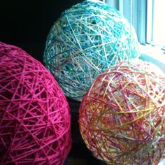 More yarn balls I made :)
