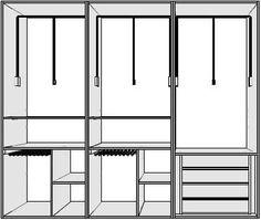 Interiores para armarios empotrados | Puertas Innova S.L.U