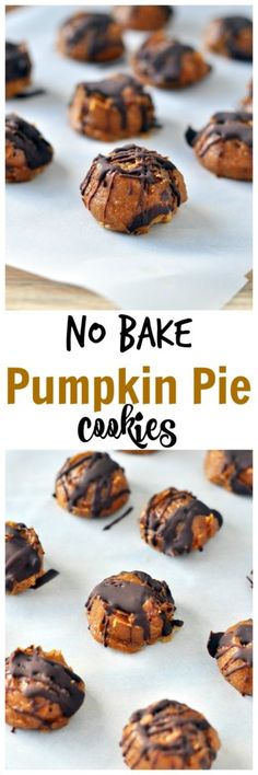 Just a few simple ingredients and ZERO cooking required to make these pumpkin…