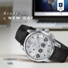 Chrono 4 130 by Eberhard & Co. #chrono4130 #4countersinline #patented #registereddesign #chronograph #anniversary #happy130 #readyforanewday
