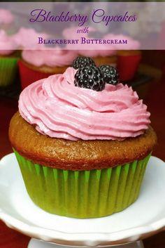 Blackberry Cupcakes - Grumpy's Honey BunchFacebookGoogle+InstagramPinterestTwitterFacebookGoogle+InstagramPinterestTwitter