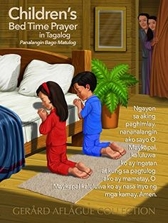 Children's Tagalog Christian Prayer Poster [Philippines]…