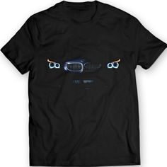Bimmer E60 530 BMW OEM LUX H8 Headlights T-Shirt Men Gift Idea Headlights Glow Holiday Gift Birthday