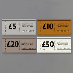 Attempting to locate entertaining commercial presents for a client or even the crew? We've got the foremost distinct variety. Labour And Wait, Gift Voucher Design, Packaging Design, Branding Design, Ticket Design, Coupon Design, Gift Vouchers, Name Cards, Corporate Gifts