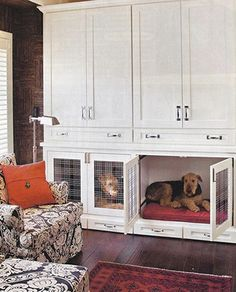 25 Stylish Indoor Dog Houses That Any Pooch Will Fall In Love With