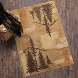 New Cabin Decor at Black Forest Decor Rustic Area Rugs, Black Forest Decor, Bear Rug, Western Decor, Accent Rugs, Earthy, Animal Print Rug, Wildlife