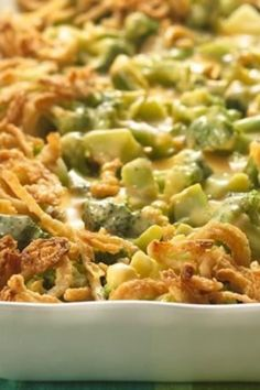 5 easy ingredients + few minutes of prep = a delicious veggie casserole in the oven for your Thanksgiving meal!