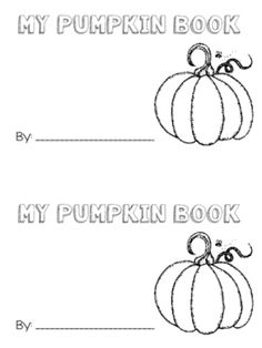 My Pumpkin Book (Math and Science)