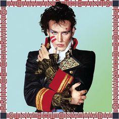 cool album covers of the 80s new wave | Adam Ant on the cover of the Prince Charming album