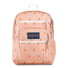 Conquer your school day with this JanSport backpack to haul of your gear. Cute Backpacks For School, Cool Backpacks, Teen Backpacks, Leather Backpacks, Leather Bags, Mochila Jansport, Jansport Backpack, Stylish School Bags, Backpack For Teens