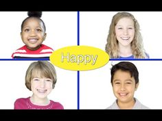 """""""Feelings"""" - Emotions song for children by Patty Shukla Funny Facial Expressions - YouTube"""