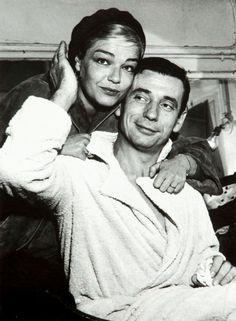 Simone Signoret  Yves Montand