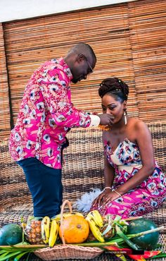 Joëlle+Claude's Congolese Wedding Traditional Wedding Attire, African Traditional Wedding, Traditional Weddings, African Weddings, Couple Photos, Couples, Women, Traditional