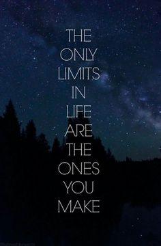 Minimize the limits.