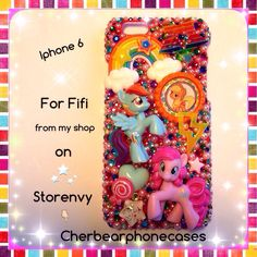 My little pony custom case from my shop on Storenvy-Cherbearphonecases- Check out my Instagram gallery @cchobbo to see all of my custom cases!